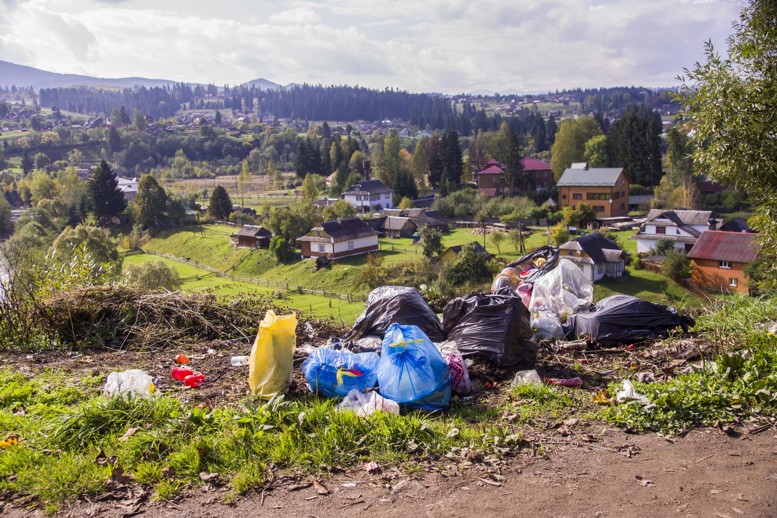 Plástico en zonas común