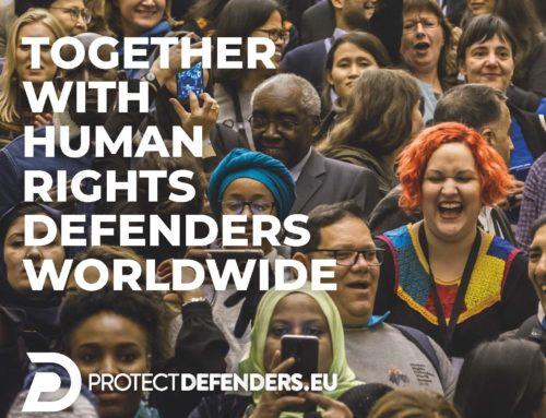 Comunicación para proteger a los defensores de los derechos humanos